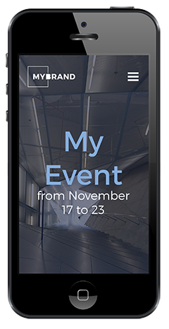 Event App<div style='font-size:10px;line-height:5px;'><br>powered by ShakeIT</div>